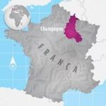 Região de Champagne, na França