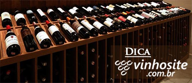 Como armazena vinho