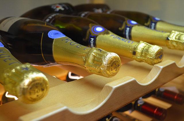 garrafas de espumante