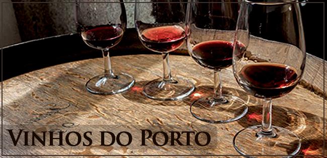 Taças com Vinho do Porto