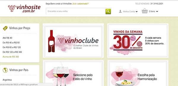 Comprar Online Vinhos