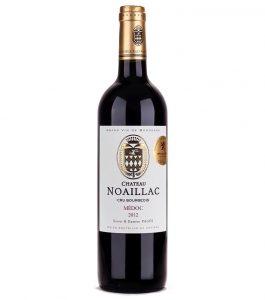 Château Noaillac Médoc Cru Bourgeois: este vinho faz parte do seleto grupo dos Cru Bourgeois e é Medalha de Ouro no Concours International de Lyon. Foi degustado pelos assinantes do Clube do Vinho Platinum em Maio.