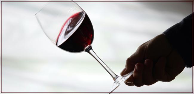 Girar taça do vinho