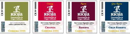 Classificações Rioja