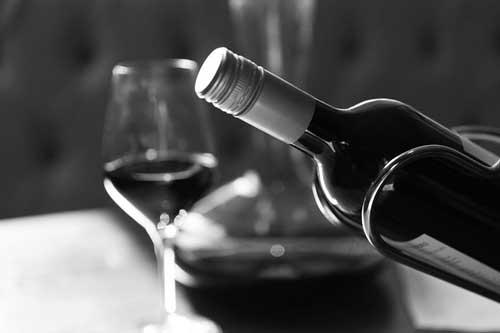 Vinho produzido com uva Tempranillo
